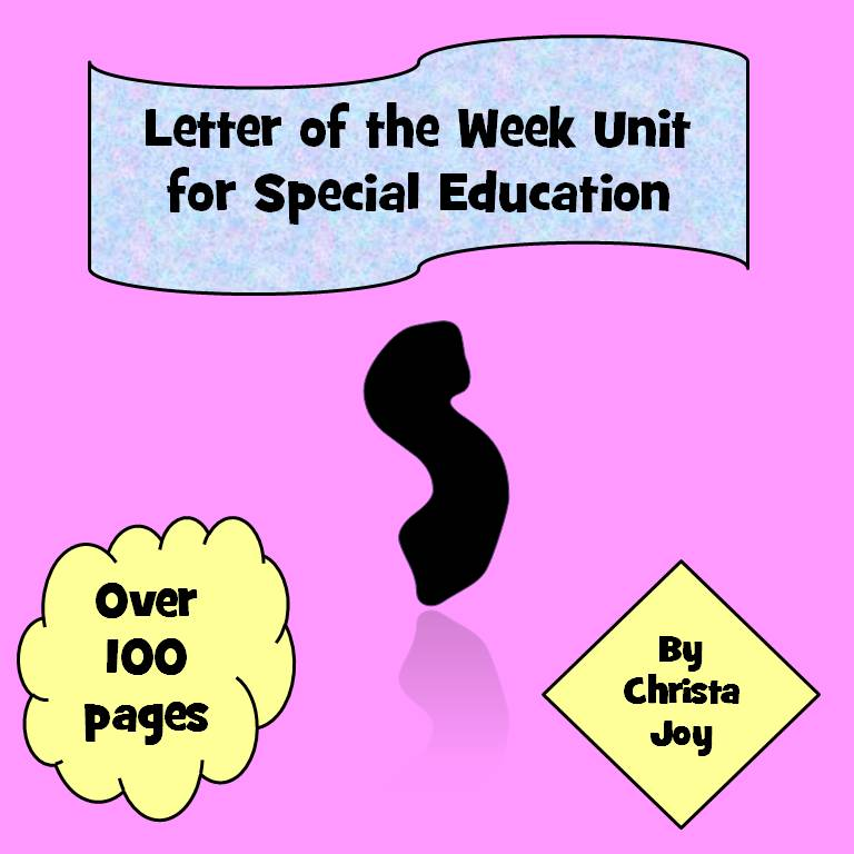 Letter of the week unit Letter S