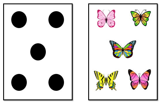 dots and butterflies