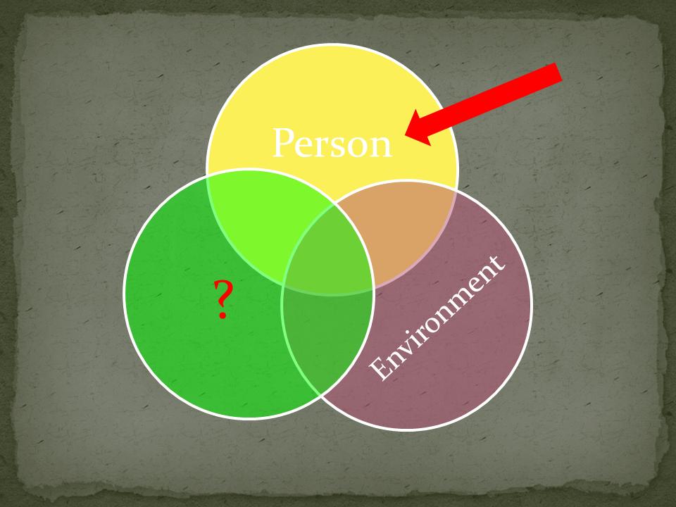 Venn Diagram person