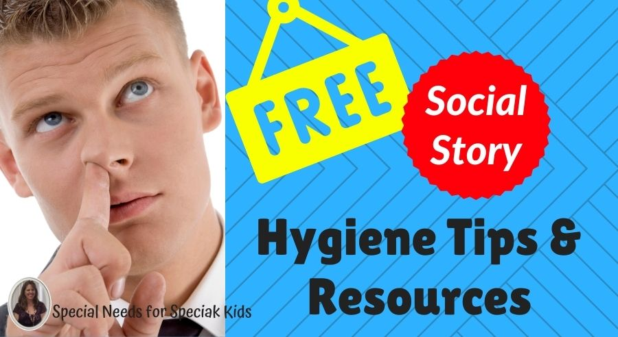 Hygiene tips and free social story