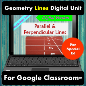 Digital unit for parallel and perpendicular lines