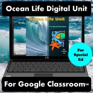 Ocean Life Digital Unit for Special Education