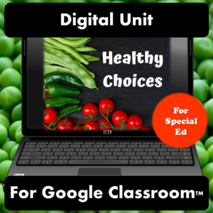 Healthy Choices Digital Unit for Distance Learning