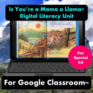 Is your mama a llama digital unit