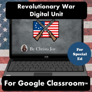 Revolutionary War Digital Unit