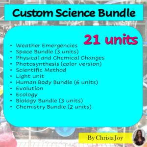 Spring digital worksheets for special education