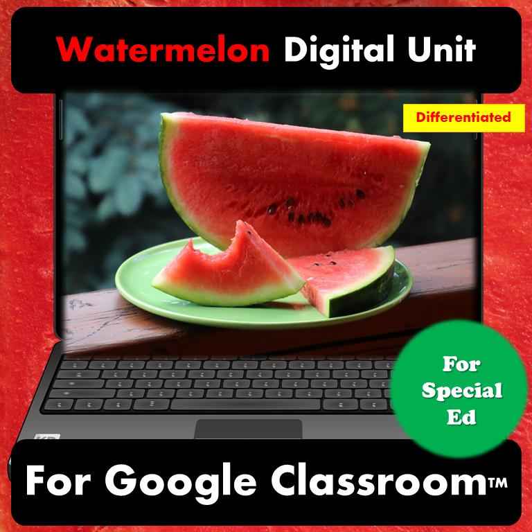 Watermelon digital unit for special education title