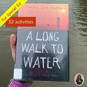 A Long Walk to Water Novel Unit for Special Ed cover
