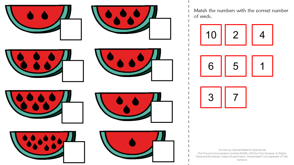 end of the year activity for math