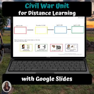 Civil War Digital unit for Special Education