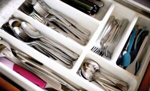Silverware sorting