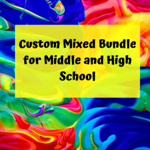 Custom Mixed bundle for middle and high school special ed