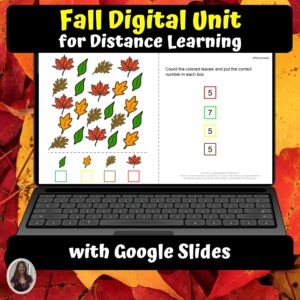 Fall Unit for Special Education with DIGITAL activities | Distance Learning