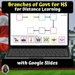 Branches of Govt for HS Digital Unit for google classroom | Distance learning