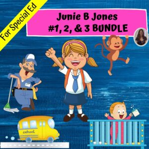 Junie B Jones Bundle of books 1, 2, and 3 | Save 20%