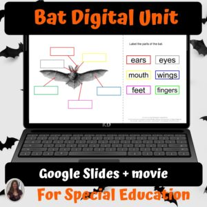 Bats Digital Unit for google classroom | Distance Learning