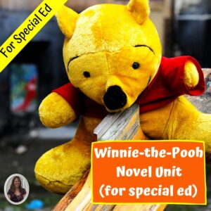 Winnie-the-Pooh Novel Study for Special Ed with comprehension questions