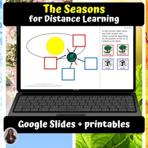The Seasons Digital Unit for google classroom | Distance learning
