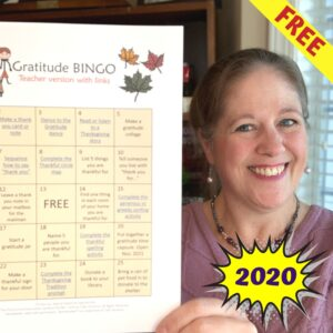 Free Gratitude Challenge for 2020 | Distance Learning