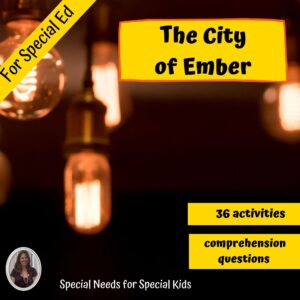 The City of Ember Novel Study for Special Ed