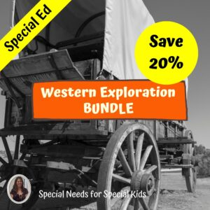 The Westward Expansion BUNDLE for Special Ed Middle and High School