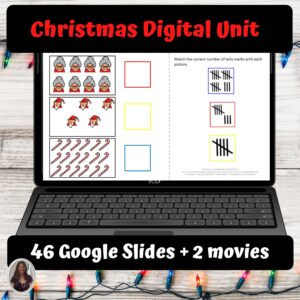 Christmas Digital Unit for Special Education | Distance Learning