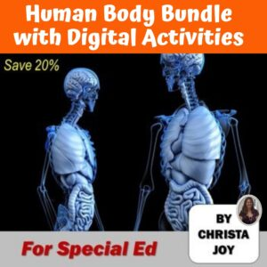 Human Body Ultimate Bundle with DIGITAL Activities | Distance Learning