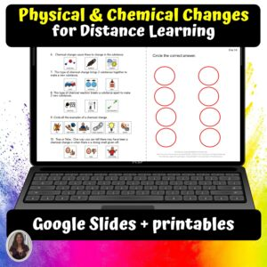 Physical & Chemical Changes cover