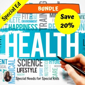 Health Bundle for Special Education High School