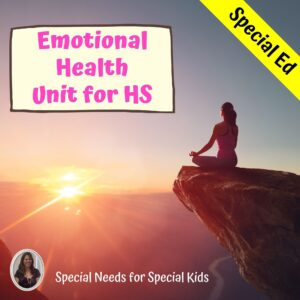 Emotional Health and Self-Esteem Unit for High School Special Education