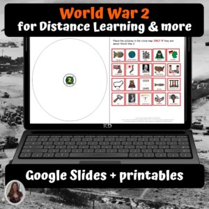World War 2 Unit for google classroom | Distance learning