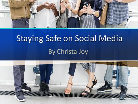 social media safety for teen social story