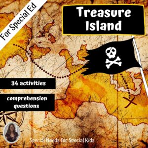 Treasure Island Novel Study for Special Education