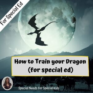 How to Train your Dragon Novel Study for Special Ed with chapter questions