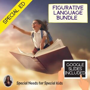 Figurative Language Bundle for Special Education with digital activities