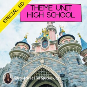 Theme Unit for Special Education PRINT AND DIGITAL