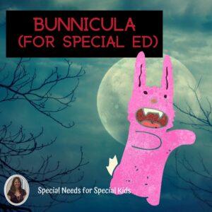 Bunnicula Novel Study for Special Education