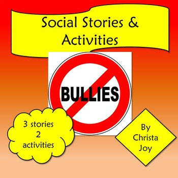 Bullies are not nice social story